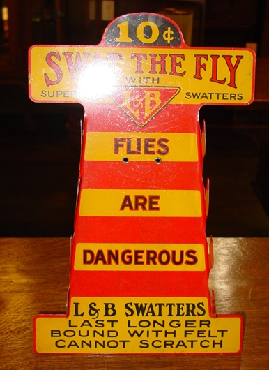 Counter top country store Fly Swatter display