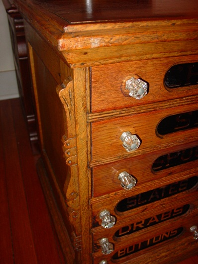 Fine 9 drawer Chadwick's spool cabinet