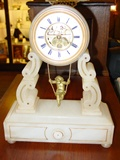 Swinging Cupid French mantel clock - 1862